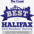 The Coast - Best of Halifax Readers' Choice Award for 2011