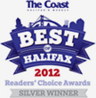 The Coast - Best of Halifax Readers' Choice Award for 2012